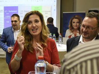 ZÁZNAM: Volebná centrála A. Turčanovej