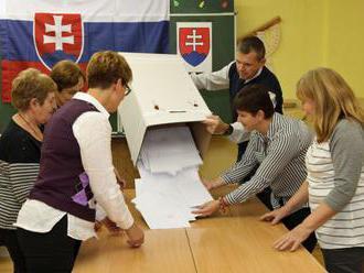 Po spracovaní takmer polovice zápisníc je účasť vo voľbách 53,25 %