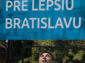 Nesrovnal: Bratislavčania rozhodli, gratulujem M. Vallovi k víťazstvu