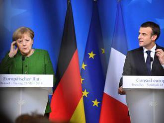Macron a Merkelová si spoločne pripomenuli koniec prvej svetovej vojny