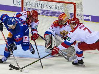 Olympijský tím Rusko – SR 2:1, Slováci najlepšie tretí