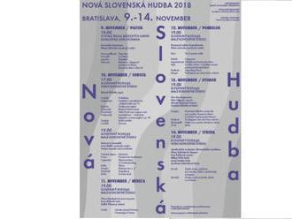 Nová slovenská hudba ponúka sedem koncertov