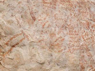 V Indonézii objavili najstaršiu jaskynnú maľbu zvierat