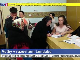 Volebné miestnosti otvorili aj v rázovitej podtatranskej obci Lendak