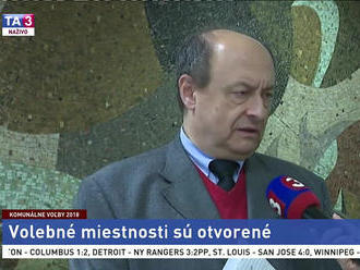 Predseda štátnej volebnej komisie E. Bárány o komunálnych voľbách