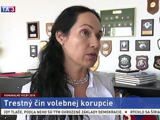 Rektorka Akadémie policajného zboru L. Kurilovská o volebnej korupcii