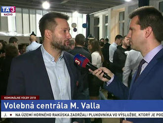 M. Vallo o svojich dojmoch z komunálnych volieb 2018