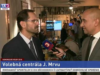 J. Mrva o očakávanom výsledku voľby primátora Bratislavy