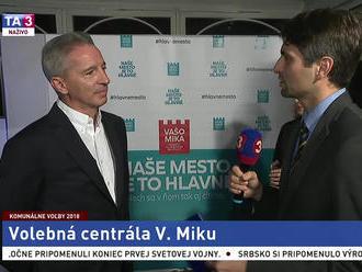 V. Mika o svojej kampani a šanci na výhru vo voľbách