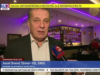 J. Dvonč o komunálnych voľbách v meste Nitra