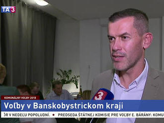 I. Kašper o priebehu komunálnych volieb v Banskej Bystrici