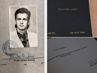 MIMORIADNA SPRÁVA Univerzita Mateja Bela zverejnila rigoróznu prácu Andreja Danka