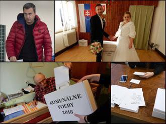 Volebný ONLINE, polícia rieši aj korupciu: Silné odkazy politikov i dôchodcov, volil už aj Danko