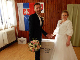Nevesta odvolila: Marta Červeňová sa dnes rozhodovala dvakrát