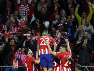 Atletico Madrid zdolal Bilbao po päťgólovej prestrelke