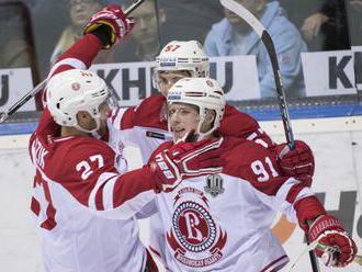KHL: Podoľsk - Dinamo vyhral v sobotňajšom zápase nad Moskvou