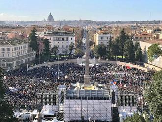 Dnes 100 000 za Salviniho v Ríme