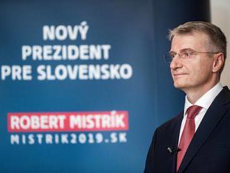 Kandidát Mistrík: Chcem posilniť hlas prezidenta v diskusiách o verejných peniazoch