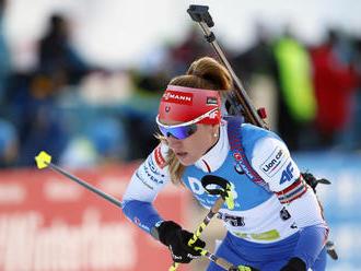 V prvom šprinte sezóny obsadila Paulína Fialková šieste miesto