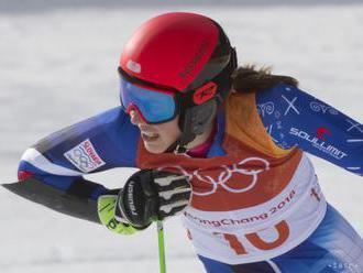 FOTO: Vlhová skončila v obrovskom slalome na 13. mieste