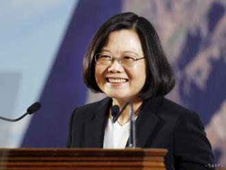 Taiwanská prezidentka vyslala pred novým rokom posolstvo nádeje