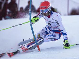 Vlhová v slalome miesto jednotky 3-ku, Zuzulová vyštartuje s osmičkou
