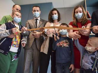 Nová herňa spríjemní deťom náročné dni na onkológii v Bratislave