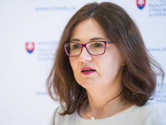 Ministerka školstva M. Lubyová rokovala s eurokomisárkou V. Jourovou