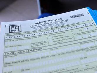 Prieskum: Dve percentá z dane daruje približne polovica Slovákov