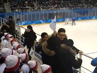 Tancujúci Kim Čong-un sa snažil vystrašiť severokórejské fanynky na Olympiáde