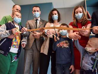 Nová herňa spríjemní deťom náročné dni na onkológii