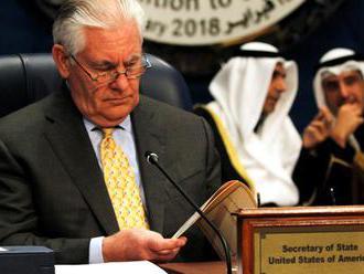 Je pre Ankaru už aj minister USA Tillerson teroristom?