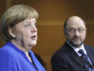 Ani veľké Merkelovej ústupky nezabránili politickému pádu Martina Schulza