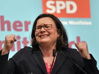 Schulzovou nástupkyňou v SPD má byť energická ľavičiarka Andrea Nahlesová
