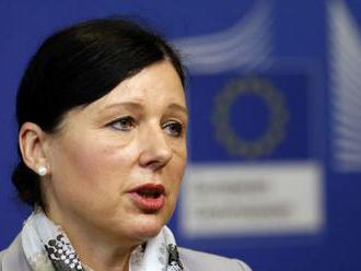 Eurokomisárku Jourovú znepokojuje situácia rómskych detí na Slovensku
