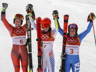 Shiffrinovej parádny comeback v obrovskom slalome, Vlhová mimo top10