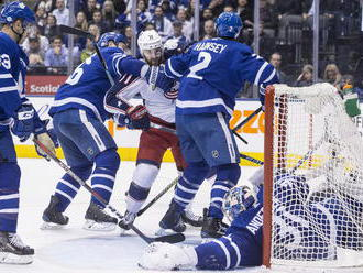 VIDEO: Kadri piatimi bodmi potiahol Toronto k výhre nad Columbusom, Andersen ako na Verdune