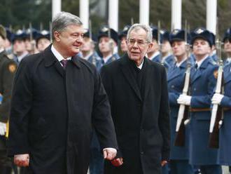 Van der Bellen v Kyjeve: Rusko nemôže na Kryme uskutočniť voľby