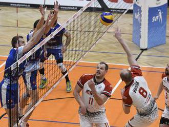 Volejbalisti Nitry vyhrali na palubovke Prešova