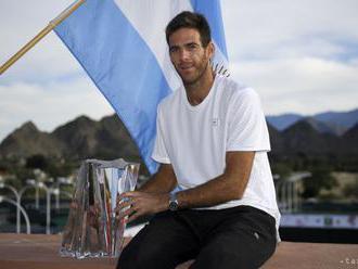 Del Potro po zisku titulu v Indian Wells: Ešte stále sa chvejem