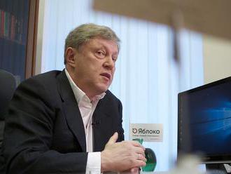 Javlinskij sa obáva o osud Ruska, chce bojovať za zmeny v krajine