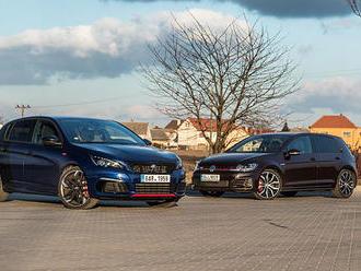 Peugeot 308 GTi vs. VW Golf GTI Performance     Proč GTi není GTI