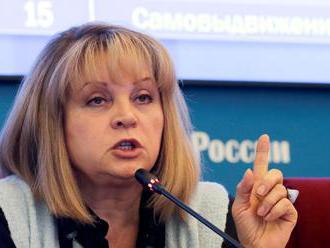 Pamfilovová vylúčila možnosť podvodov v prezidentských voľbách