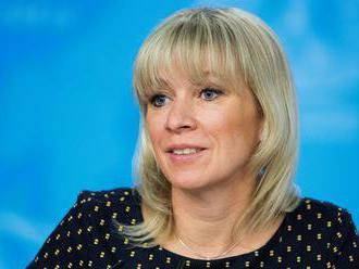 Zacharovová: Lavrov neprijal pozvanie na návštevu Londýna