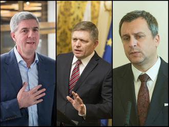 ONLINE Koaličná kríza: O pár minút majú Bugár, Fico a Danko oznámiť zásadné rozhodnutie