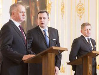 Reakcia prezidenta Kisku na vyhlásenie koaličných lídrov Fica, Danka a Bugára