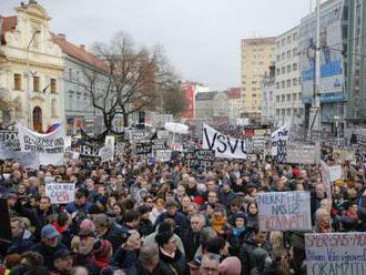 Organizátori zhromaždení Za slušné Slovensko požiadali o stretnutie s prezidentom Kiskom