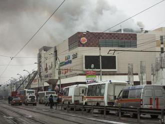 Príčinou požiaru v nákupnom centre v Kemerove bol skrat