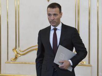 VIDEO: Prezident prijal demisiu Druckera, rezort povedie Pellegrini