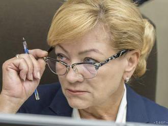 Ministerka kultúry Ľ. Laššáková sa už vzdala mandátu poslanca BBSK